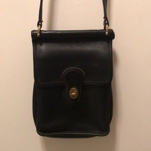 Vintage Coach Murphy Willis Leather Crossbody